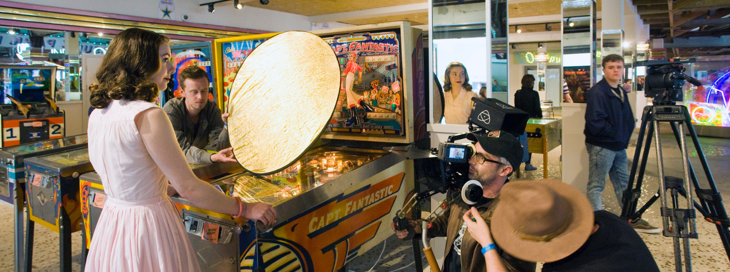filming period pinball machine use